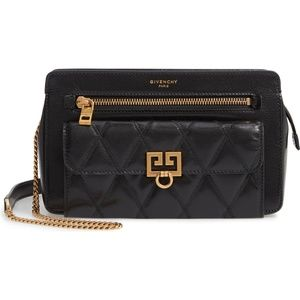 Givenchy Diamond Quilted Pocket Crossbody Bag